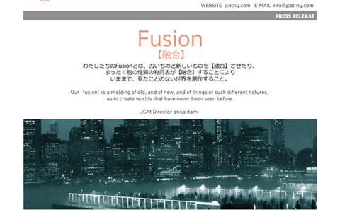 JCAT『Fusion Exhibition』