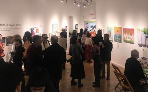 ニューヨークで展覧会